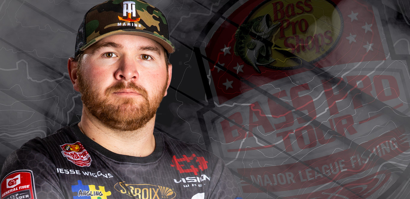 Jesse Wiggins - Bass Pro Tour / Major League Fishing Angler